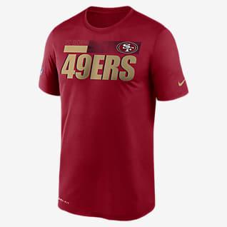 Nike Dri-FIT Team Name Legend Sideline (NFL San Francisco 49ers) T-shirt voor heren