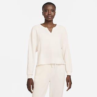 Nike Yoga Dri-FIT Luxe Γυναικεία μπλούζα σε χαλαρή γραμμή