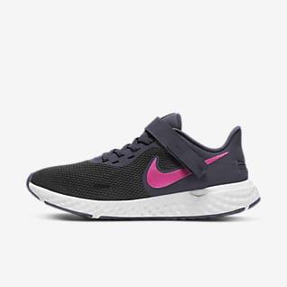 Nike Revolution 5 FlyEase 女款輕鬆穿脫路跑鞋