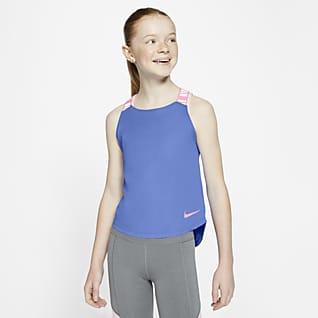 Nike Dri-FIT Big Kids' (Girls') Training Tank