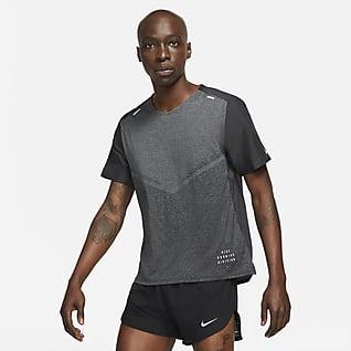 Nike Techknit Ultra Run Division Haut de running à manches courtes pour Homme