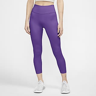 Nike One Luxe Leggings cropped de tiro medio para mujer