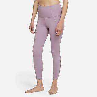 Nike Yoga Dri-FIT Women's High-Waisted 7/8 Cut-Out Leggings