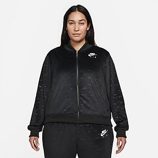 Nike Air Velour Γυναικείο τζάκετ (μεγάλα μεγέθη)