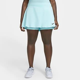 NikeCourt Victory Kadın Tenis Eteği (Büyük Beden)