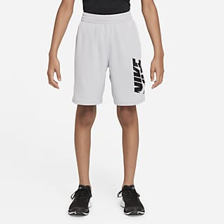 Nike Shorts de entrenamiento para niño talla grande