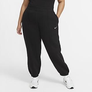 Nike Sportswear Trend Женские флисовые брюки (большие размеры)
