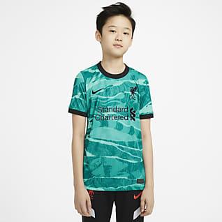 Liverpool FC 2020/21 Stadyum Deplasman Genç Çocuk Futbol Forması