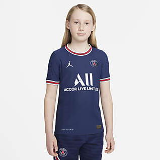 Paris Saint-Germain 2021/22 Match Home Camiseta de fútbol Nike Dri-FIT ADV para niños talla grande