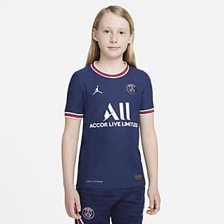 Paris Saint-Germain 2021/22 Match Domicile Maillot de football Nike Dri-FIT ADV pour Enfant plus âgé