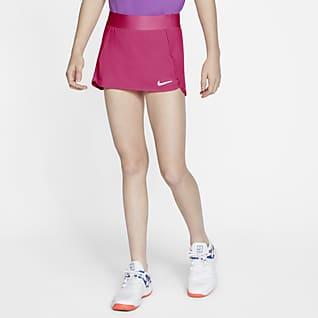 NikeCourt Spódnica tenisowa dla dużych dzieci (dziewcząt)