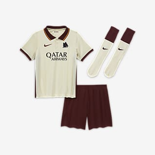 A.S. Rom 2020/21 Away Fußballtrikot-Set für jüngere Kinder