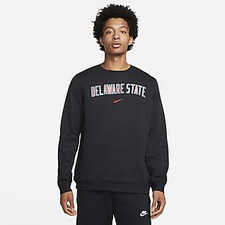 Nike College Club Fleece (Delaware State) Sudadera de cuello redondo