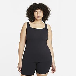Nike Yoga Luxe Camiseta de tirantes con sujetador para mujer talla grande