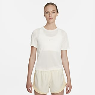 Nike Icon Clash Camiseta de running de manga corta para mujer