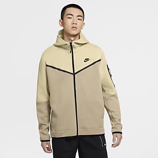 Nike Sportswear Tech Fleece Ανδρική μπλούζα με κουκούλα και φερμουάρ σε όλο το μήκος