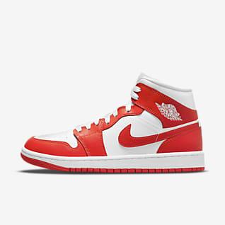 Air Jordan 1 Mid รองเท้าผู้หญิง