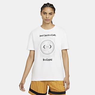 Nike 'Legend' Basketbalshirt met boyfriendpasvorm voor dames
