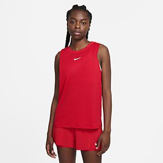 NikeCourt Advantage Camisola de ténis sem mangas para mulher