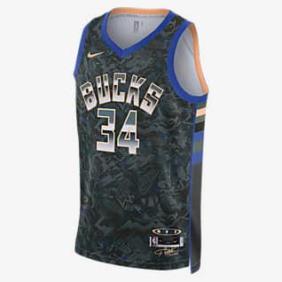 Giannis Antetokounmpo Select Series Camisola NBA da Nike