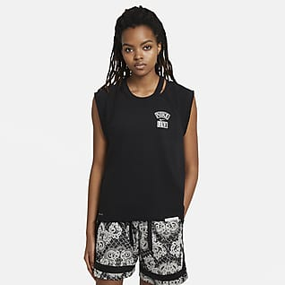 "Nike Standard Issue ""Queen of Courts"" Женская баскетбольная футболка"