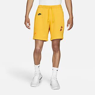 Nike Sportswear Essentials+ กางเกงขาสั้นผ้าเฟรนช์เทรีผู้ชาย