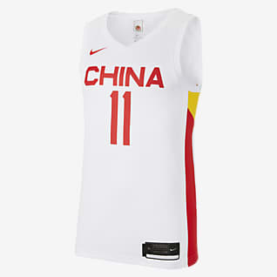 Nike 中国队(主场) 男子篮球球衣