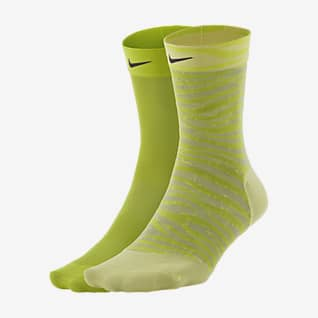 Nike Sheer Women's Training Ankle Socks (2 Pairs)