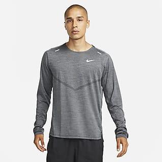 Nike Dri-FIT ADV Techknit Ultra Pánské běžecké tričko sdlouhým rukávem