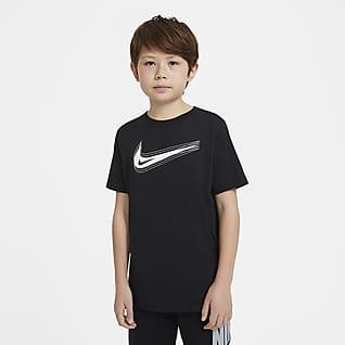 Nike Sportswear T-shirt com Swoosh Júnior