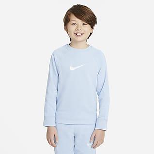 Nike Sportswear Swoosh Crewtrøje til store børn (drenge)