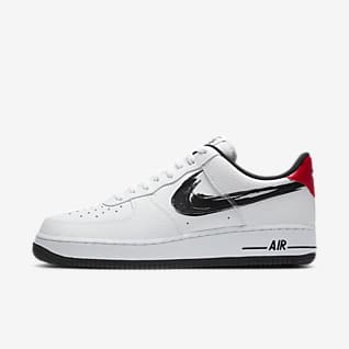 air force 1 uomo marroni