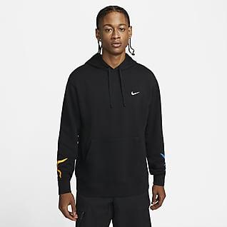 Nike Sportswear Sudadera con gorro sin cierre de French Terry para hombre