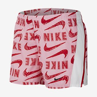 Nike 大童(女孩)印花跑步短裤