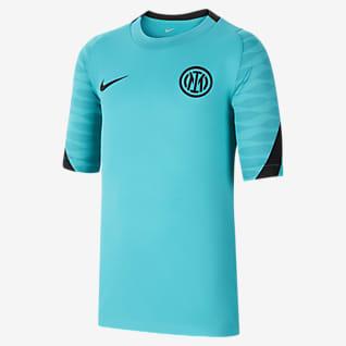 Strike Inter de Milán Camiseta de fútbol para antes del partido Nike Dri-FIT - Niño/a