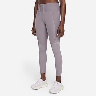 Nike Dri-FIT Femme Fast Löparleggings i 7/8-längd för kvinnor