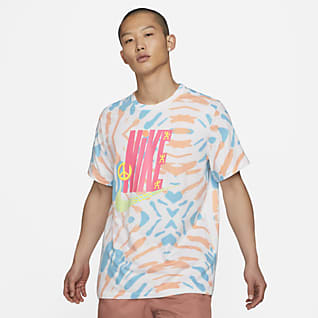 Nike Sportswear เสื้อยืดสีมัดย้อมผู้ชาย