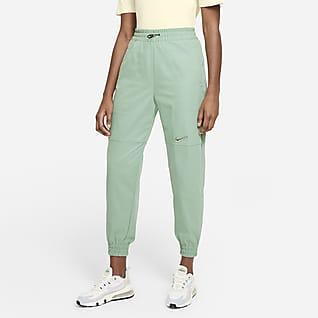 Nike Sportswear Swoosh Pantalons de teixit Woven - Dona
