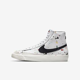 Nike Blazer Mid '77 BB (GS) 大童运动童鞋