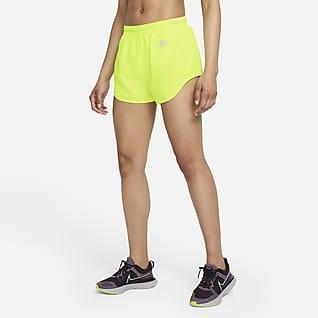 Nike Air Dri-FIT Γυναικείο σορτς για τρέξιμο με επένδυση εσωτερικού σορτς