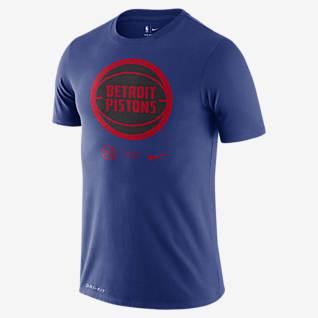 Detroit Pistons Logo Men's Nike Dri-FIT NBA T-Shirt
