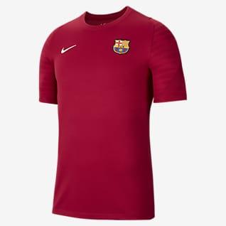 FC Barcelona Strike Men's Short-Sleeve Soccer Top
