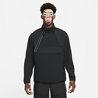 Nike Sportswear Tech Pack Vävd jacka med halv dragkedja för män