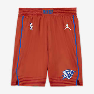 Thunder Statement Edition 2020 Men's Jordan NBA Swingman Shorts