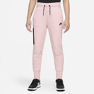 Nike Sportswear Tech Fleece Pantalones para niña talla grande