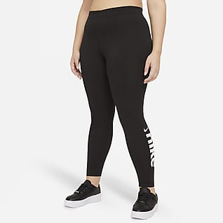 Nike Sportswear Varsity Women's Mid-Rise Leggings (Plus Size)