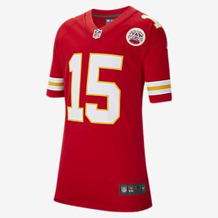 NFL Kansas City Chiefs (Patrick Mahomes) Big Kids' Game Football Jersey