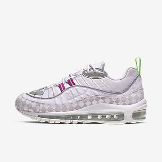 """WMNS NIKE AIR MAX 98 """"PURPLE RACER PINK"""" $83.98 FREE"""