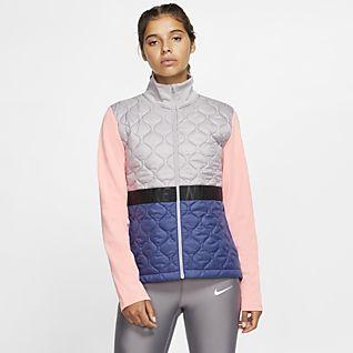 Nike AeroLayer Veste de running pour Femme