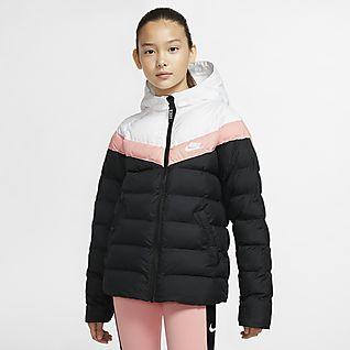Guiño George Stevenson Entretener  Girls Jackets & Vests. Nike.com